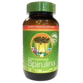 Купить Nutrex Hawaii Pure Hawaiian Spirulina Spearmint Flavor 1000 mg...