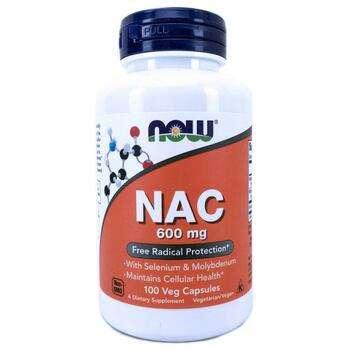Купить NAC 600 mg 100 Veg Capsules ( NAC 600 мг 100 капсул)