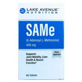 Купить Lake Avenue Nutrition SAM-e 400 mg 60 Tablets