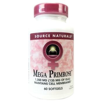 Купить Source Naturals Mega Primrose 60 Softgels