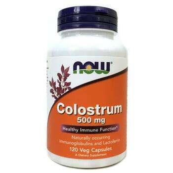 Купить Now Foods Colostrum 500 mg 120 Capsules