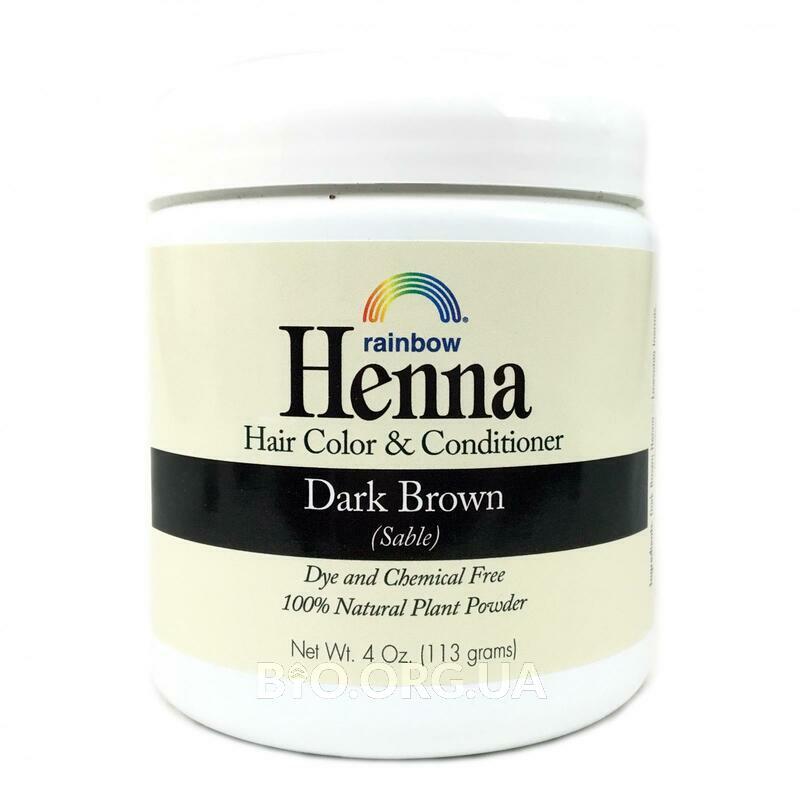 Рейнбоу Ресёрч 100 растительная хна краска и бальзам для волос... фото товара