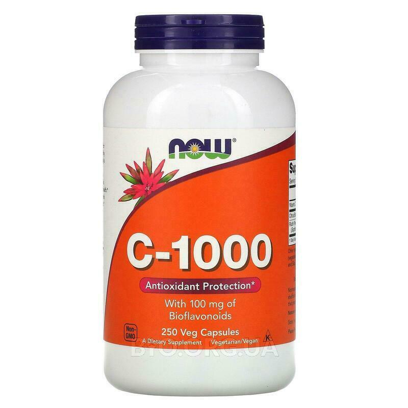 Витамин С 1000 мг 250 капсул фото товара