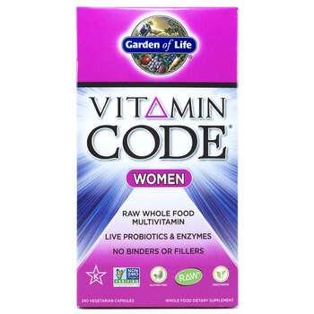 Купить Vitamin Code Women RAW Multivitamin 240 Veg Caps