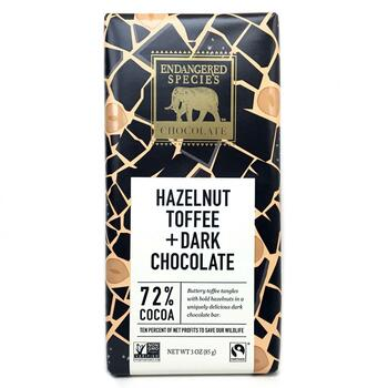 Купить Natural Dark Chocolate with Hazelnut Toffee 85 g (Натуральний ...