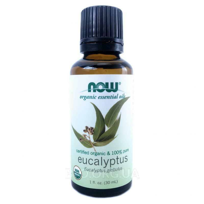 Now Foods Organic Essential Oils Eucalyptus 30 ml