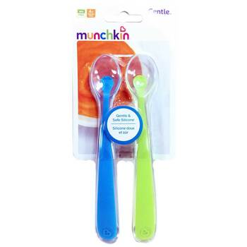 Купить Munchkin Silicone Spoons 4 Months 2 Pack