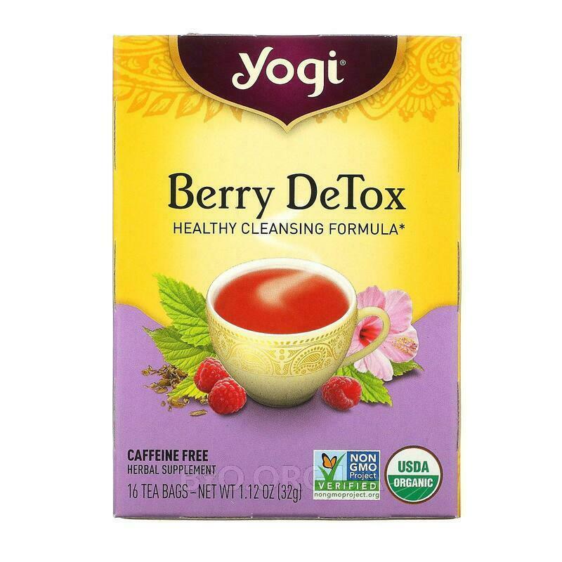 DeTox без кофеина 16 чайных пакетиков 32 г фото товара