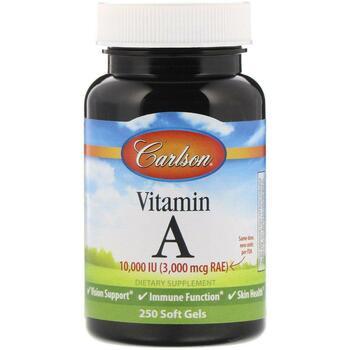 Купить Vitamin A 10000 IU 250 Soft Gels