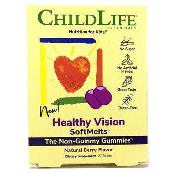 Купить ChildLife Healthy Vision SoftMelts Natural Berry Flavor 27 Tab...