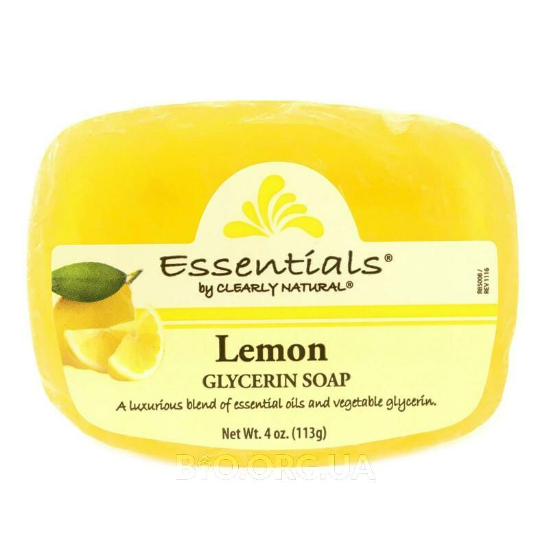 Clearly Natural Essentials Pure and Natural Glycerine Soap Lemon 113