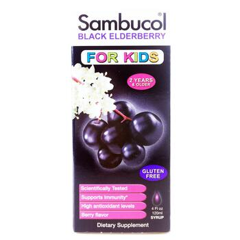 Купить Самбукол Сироп из Черной Бузины для детей 120 мл