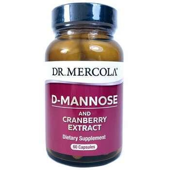 Купить D-Mannose & Cranberry Extract 60 Capsules