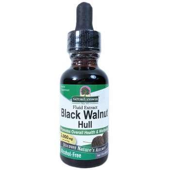 Купить Natures Answer Black Walnut Alcohol Free 2000 mg 30 ml (Нейчер...