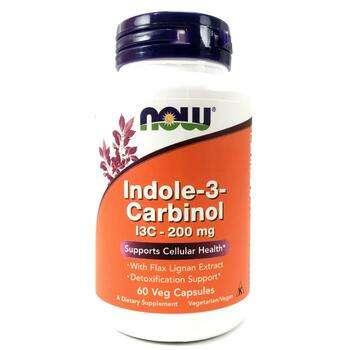 Купить Now Foods Indole-3-Carbinol 200 mg 60 Veg Capsules
