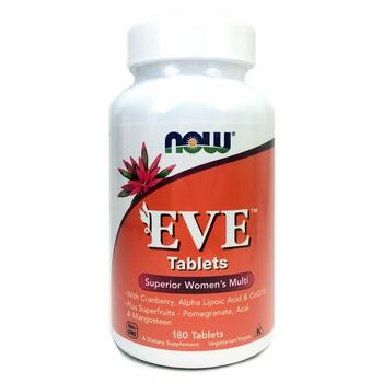 Купить Now Foods EVE Superior Women's Multi 180 Tablets