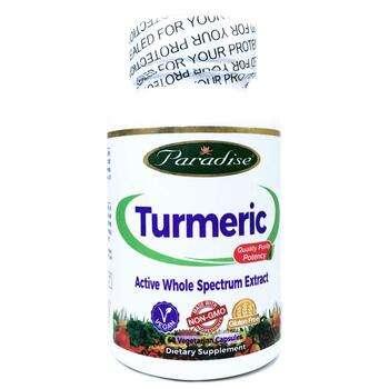 Купить Paradise Herbs Turmeric 60 Vegetarian Capsules