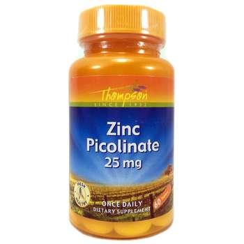 Купить Zinc Picolinate 25 mg 60 Tablets ( Цинк піколінат 25 мг 60 таб...