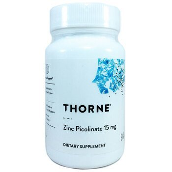 Купить Thorne Research Zinc Picolinate 15 mg 60 Capsules