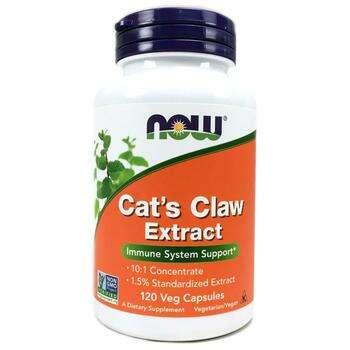 Купить Now Foods Cats Claw Extract 120 Vcaps