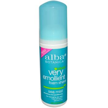 Купить Alba Botanica Natural Very Emollient Foam Shave Sea Mist 145 ml