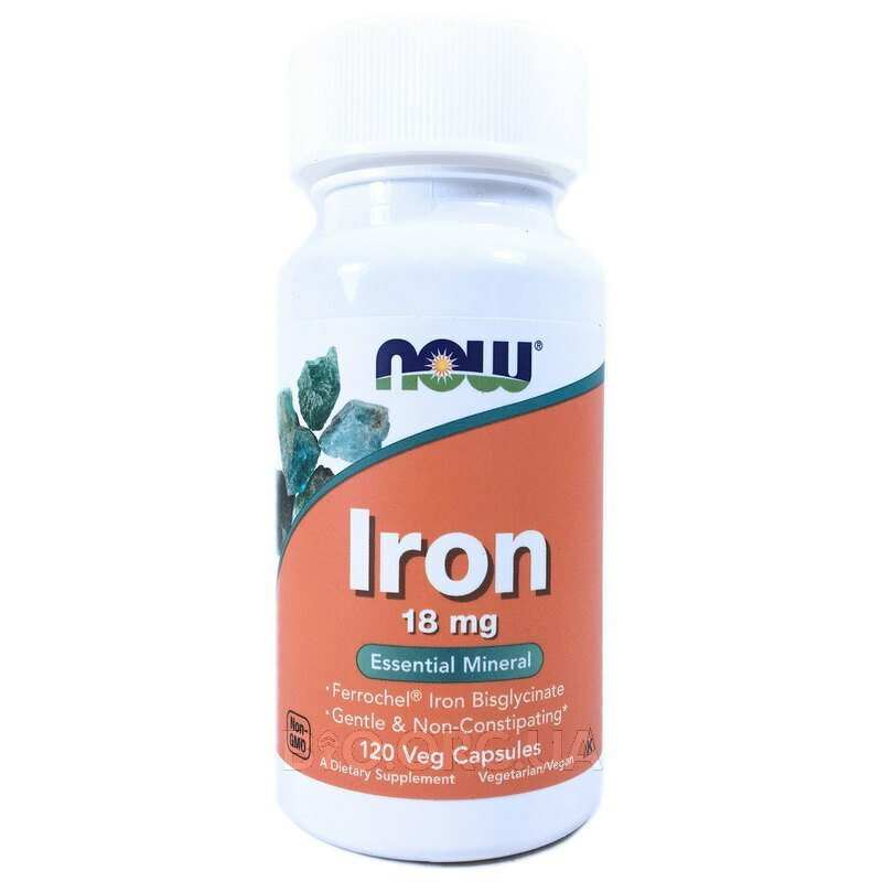 Железо 18 мг 120 капсул фото товара