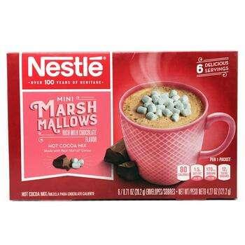 Купить Nestle Hot Cocoa Mix Marshmallows Rich Milk Chocolate Flavor 6...