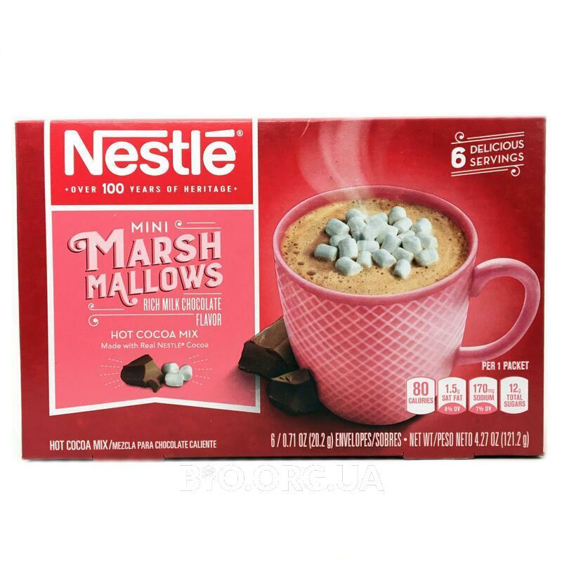 Нестле смеси для приготовления горячего шоколада с маршмеллоу ... фото товара