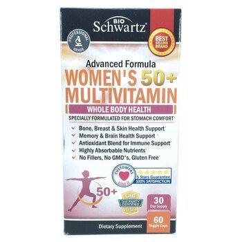 Купить Advanced Formula Women's 50+ Multivitamin 60 Veggie Caps