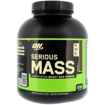 Купить Optimum Nutrition Serious Mass Chocolate 2.72 kg