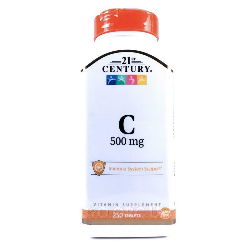 Витамин С 500 мг 250 таблеток фото товара