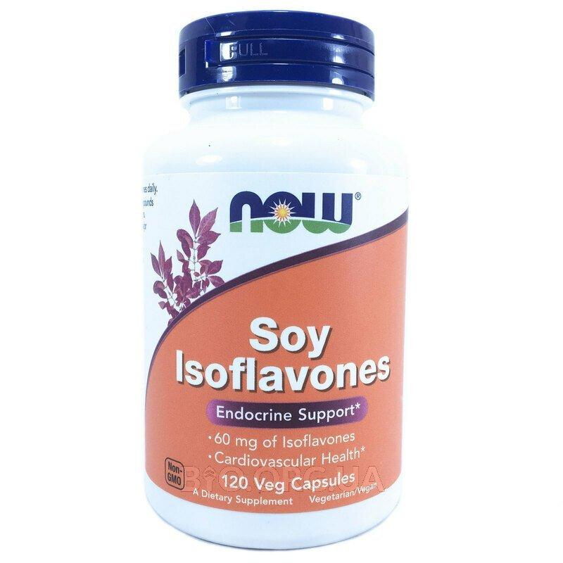 Соевые Изофлавоны 60 мг 120 капсул фото товара