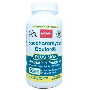 Купить Jarrow Formulas Saccharomyces Boulardii Plus MOS 90 Capsules