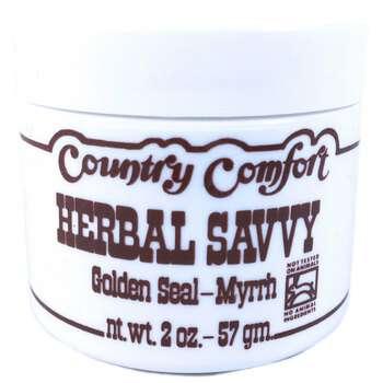 Купить Country Comfort Herbal Savvy Golden Seal-Myrrh 57 g