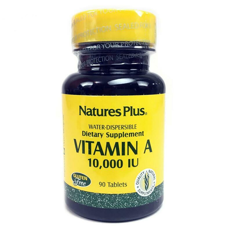Витамин А 10000 МЕ 90 таблеток фото товара