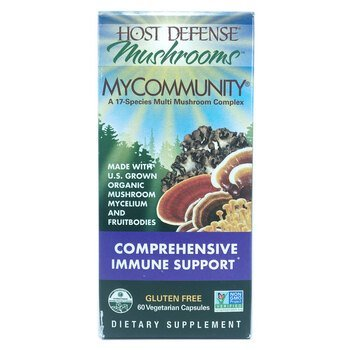 Купить MyCommunity Mushroom Immune Support 60 Capsules  (Гриби MyComm...