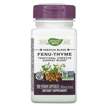 Купить Fenu-Thyme 450 mg 100 Vegetarian Capsules ( Fenu-Thyme 450 мг ...
