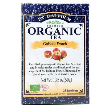 Купить St. Dalfour Organic Golden Peach Tea 25 Envelopes 50 g