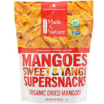 Купить Made in Nature Organic Mangoes Sweet & Tangy Supersnack 227 g