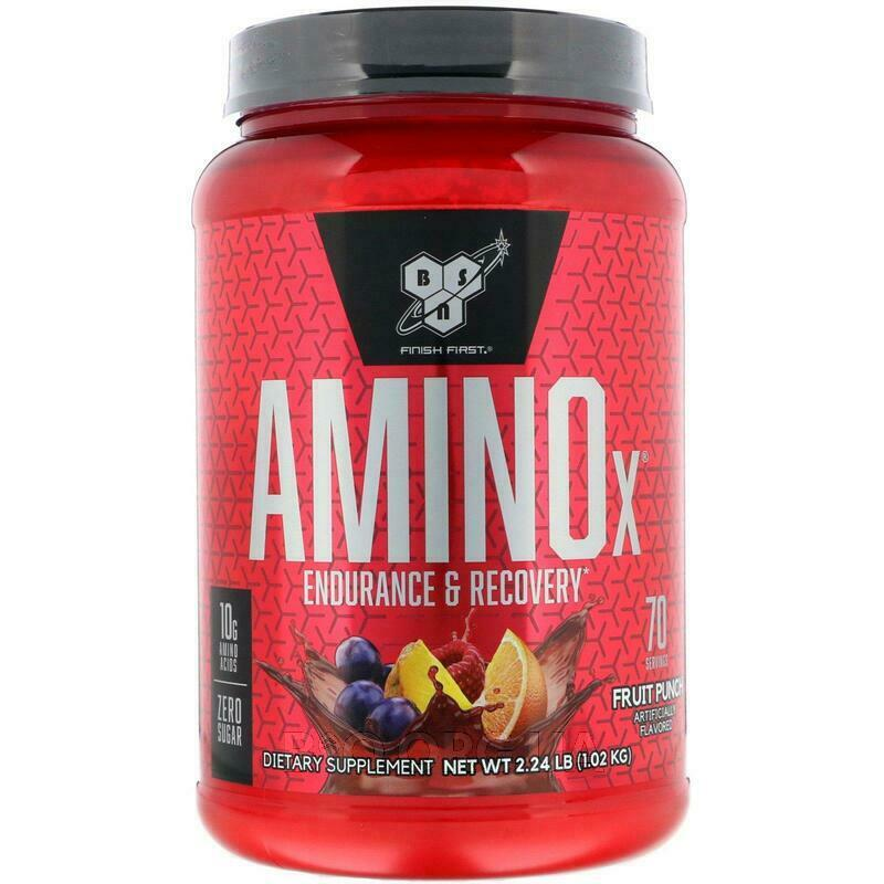 AminoX Endurance Recovery Agent Non Caffeinated Fruit Punch 1.... фото товара