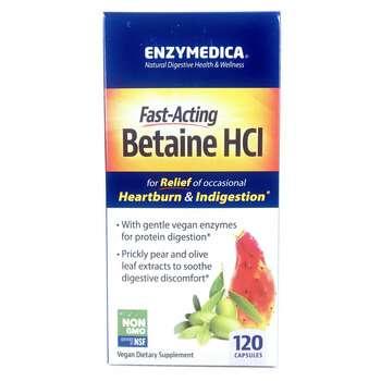 Купить Betaine HCI 120 Capsules