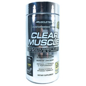 Купить Muscletech Clear Muscle 168 Liquid Caps