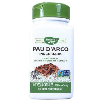 Купить Pau D'Arco Inner Bark 1090 mg 100 Vegan Capsules ( Pau D'Arco ...
