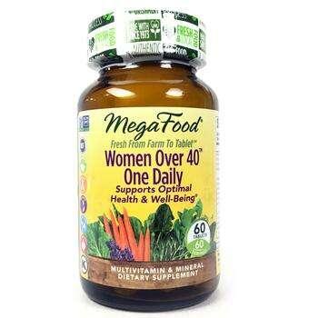 Купить MegaFood Women Over 40 One Daily 60 Tablets