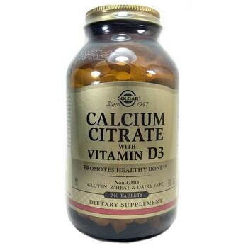 Купить Calcium Citrate with Vitamin D3 240 Tablets ( Цитрат кальцію з...