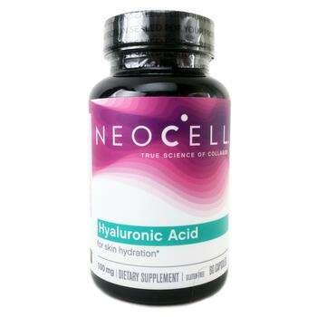 Купить Hyaluronic Acid Natures Moisturizer 60 Capsules (Неоцел Гіалур...