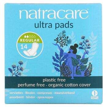 Купить Natracare Ultra Pads Покрытие из органического хлопка, обычные...