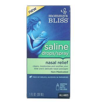 Купить Saline Drops/Spray Nasal Relief All Ages 30 ml