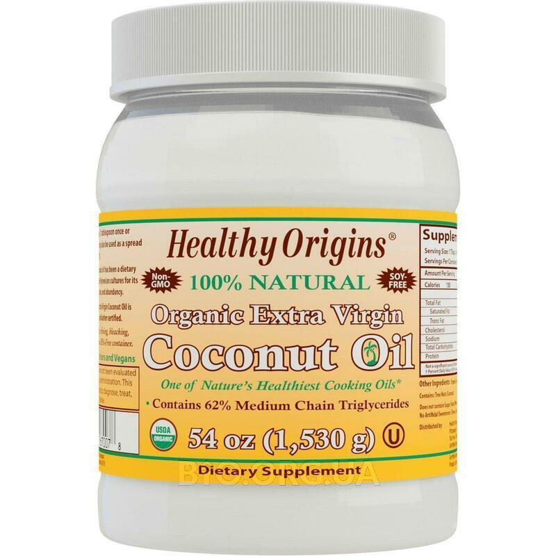 Органическое кокосовое масло первого отжима 1530 г фото товара