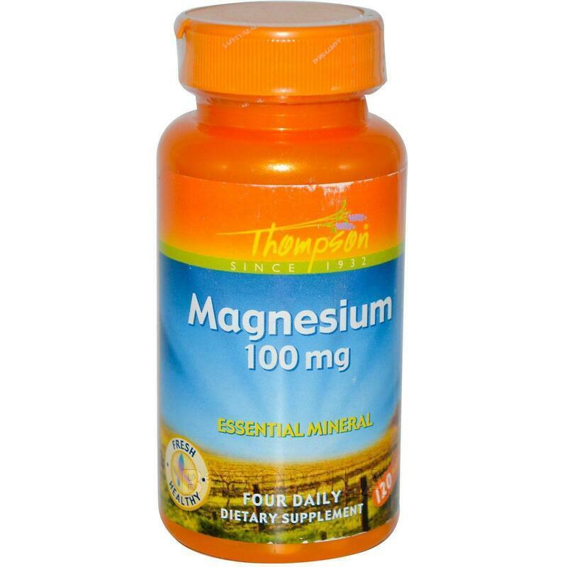 Магний 100 мг 120 таблеток фото товара